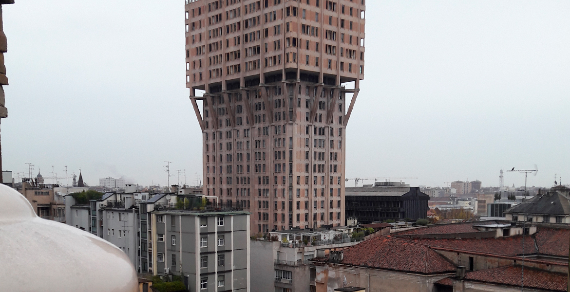 Building in Milan City Centre